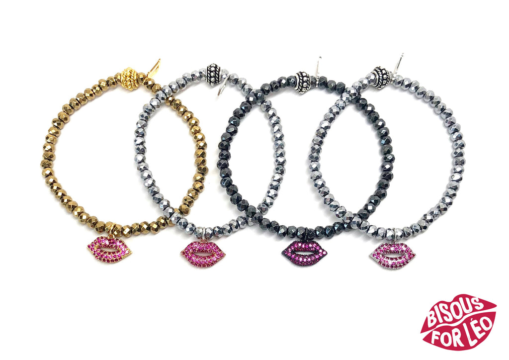 Bisous for Leo Kiss Bracelets