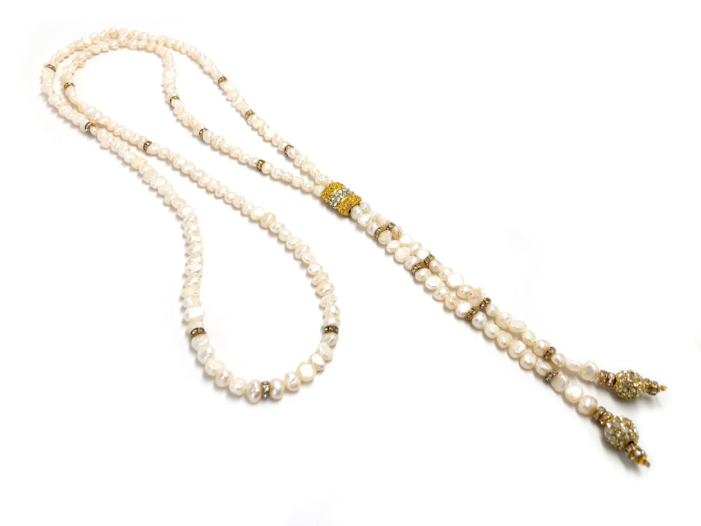 Short Susan Seed Pearl Necklace