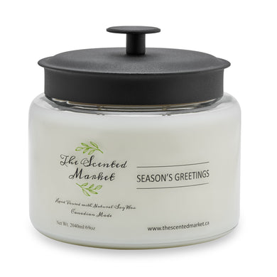 SEASON'S GREETINGS 4 wick