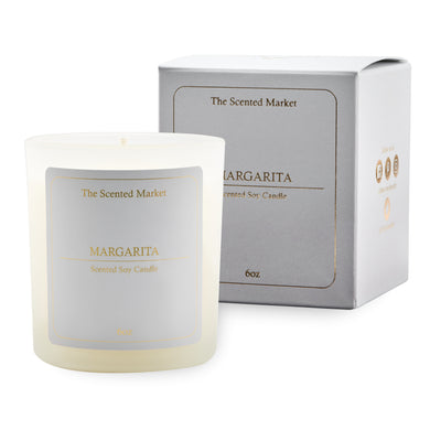 MARGARITA Soy Wax Candle 6 oz