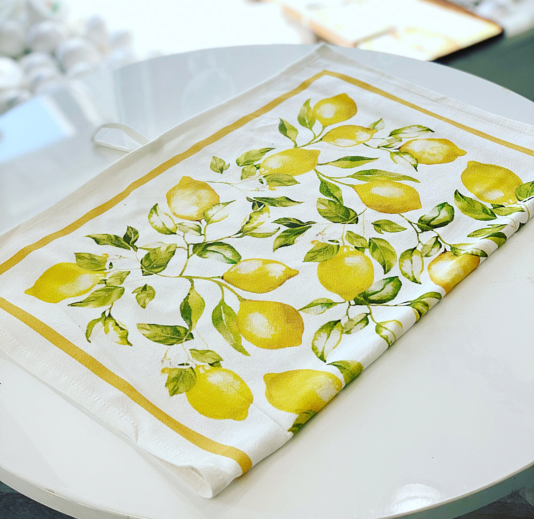 LEMON FRESH Tea Towel