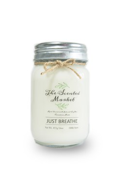 JUST BREATHE Soy Wax Candle 16 oz