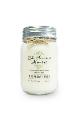 RASPBERRY BUSH Soy Wax Candle 16 oz