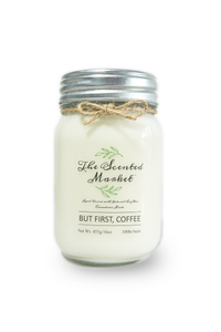 BUT FIRST, COFFEE SOY WAX CANDLE