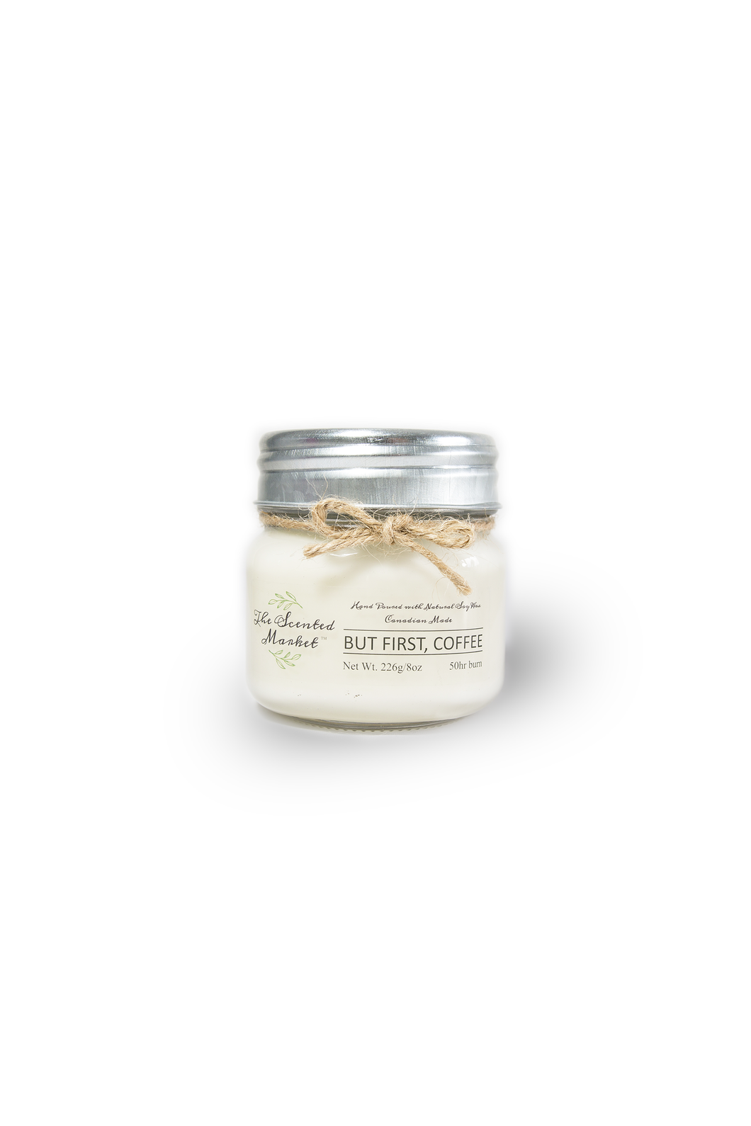 BUT FIRST, COFFEE Soy Wax Candle 8 oz