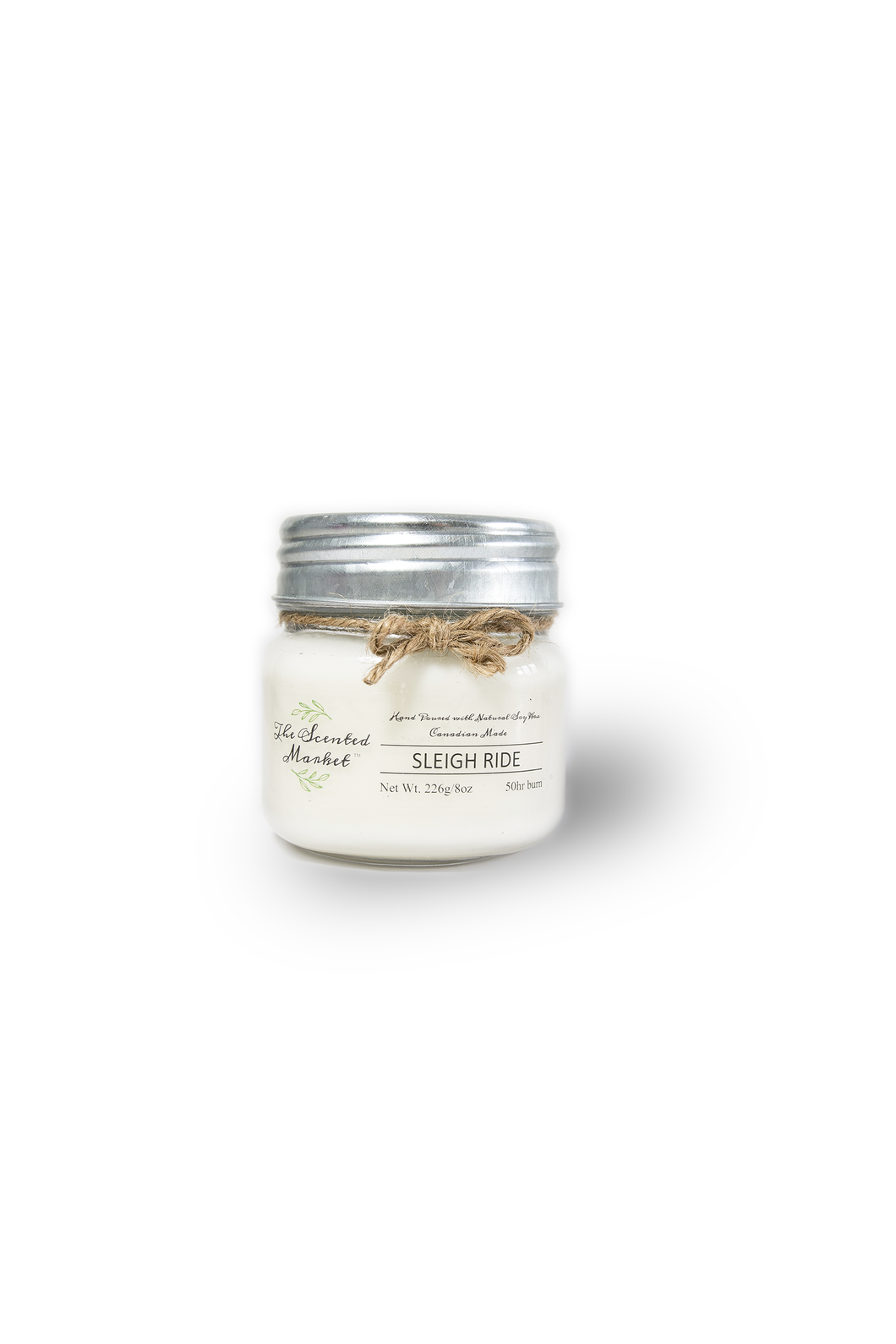SLEIGH RIDE Soy Wax Candle 8 oz