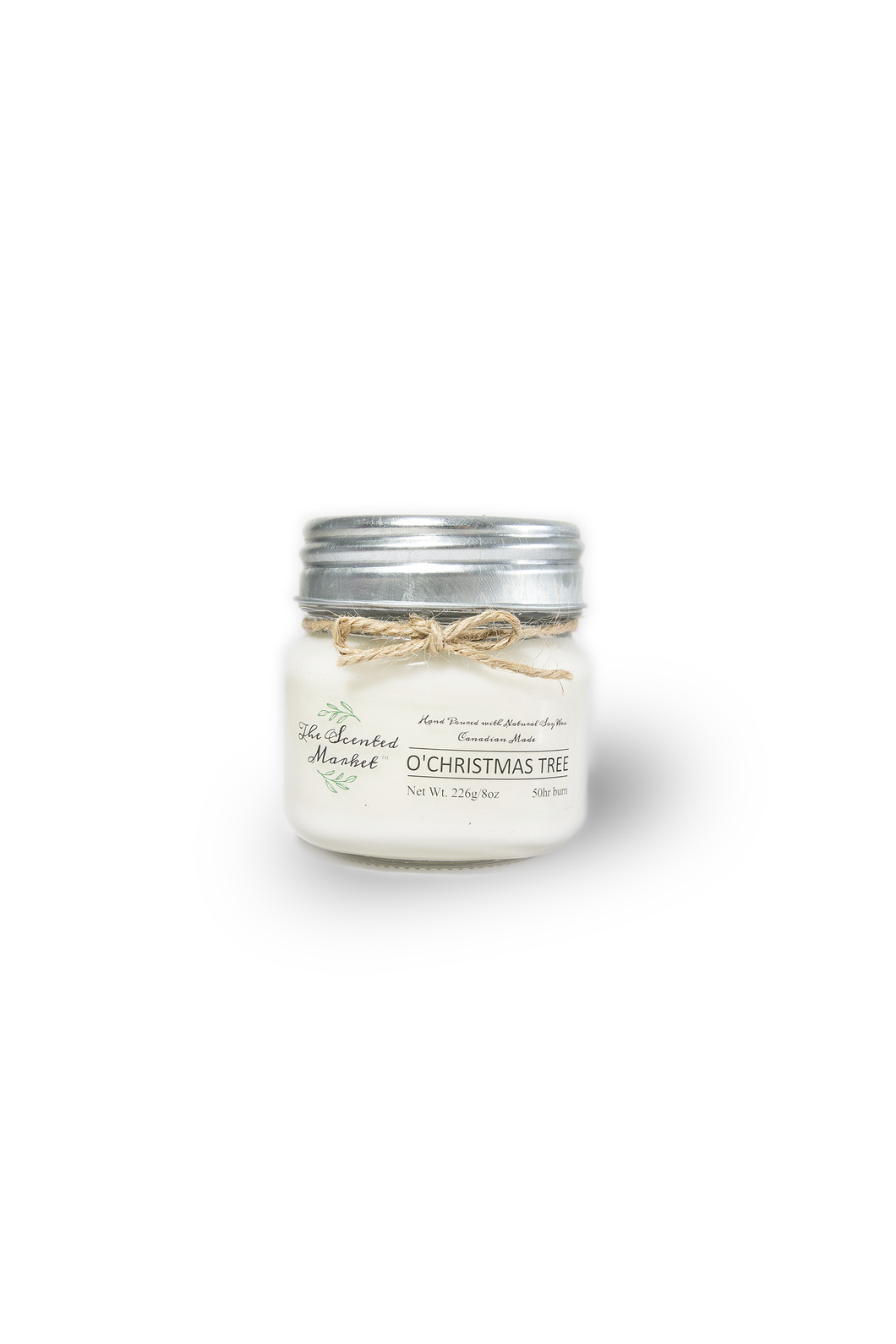 O'CHRISTMAS TREE SOY WAX CANDLE 8oz