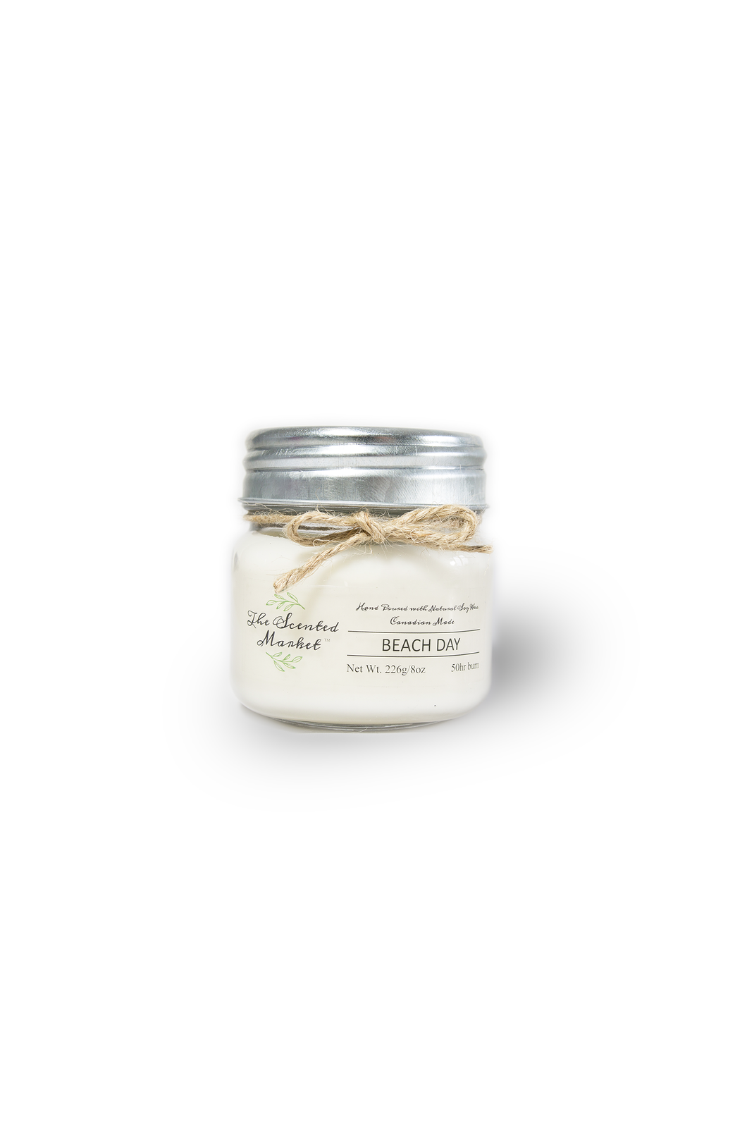 BEACH DAY SOY WAX CANDLE 8oz