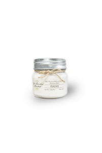 PEACHES SOY WAX CANDLE 8oz
