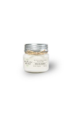 MILK & HONEY Soy Wax Candle 8 oz