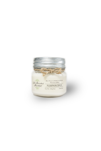 PUMPKIN SPICE Soy Wax Candle 8 oz