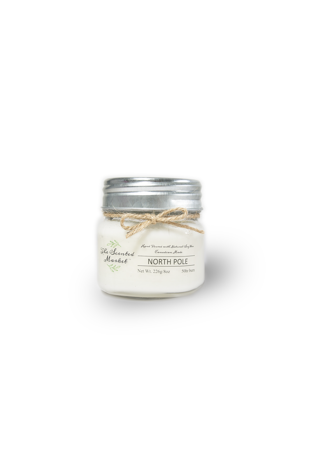 NORTH POLE SOY WAX CANDLE 8oz