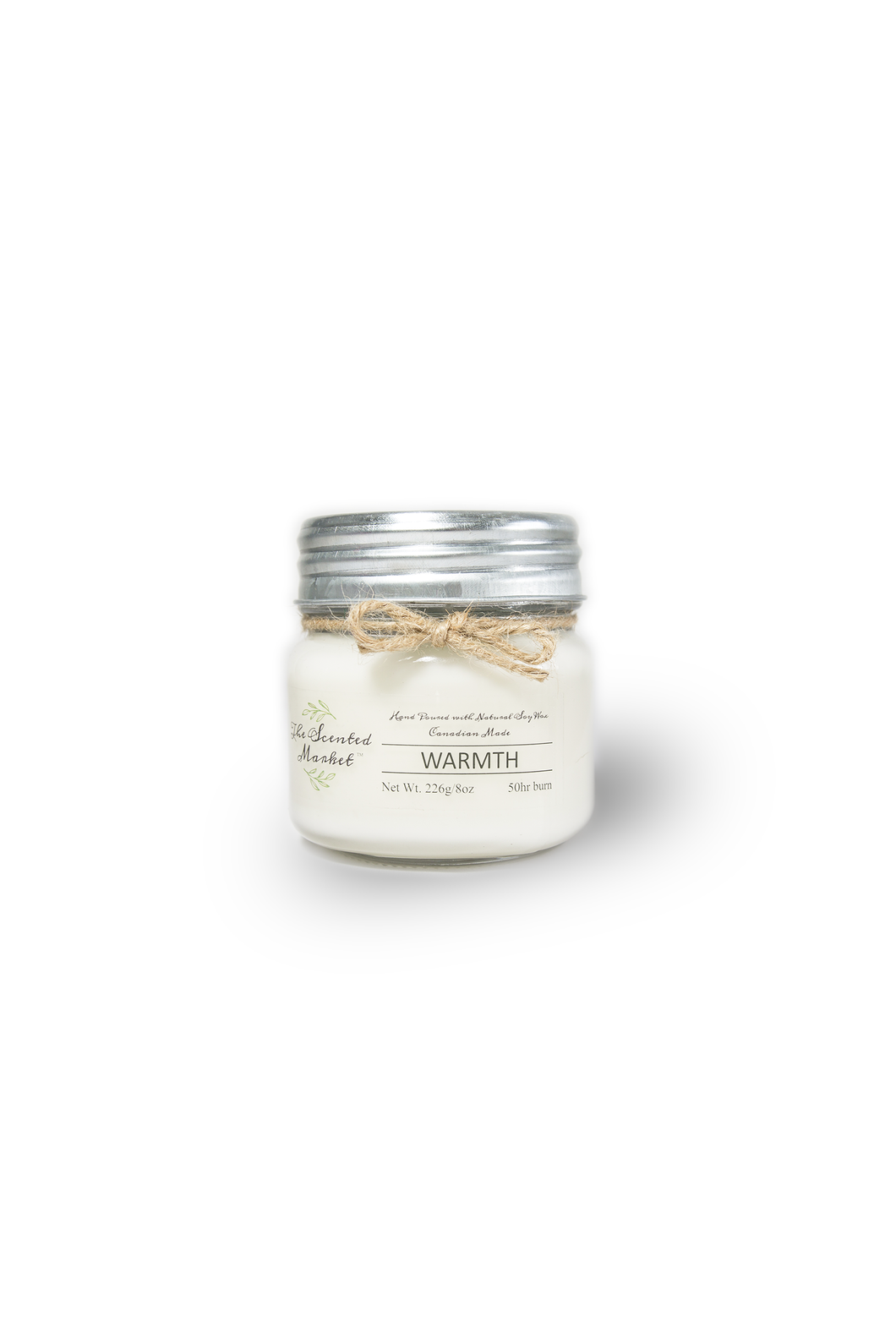 WARMTH SOY WAX CANDLE 8oz