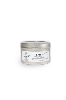 EXHALE .... Mini Essential Oil Candle