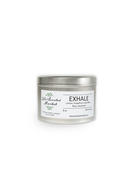 EXHALE ..... Essential Oil Candle