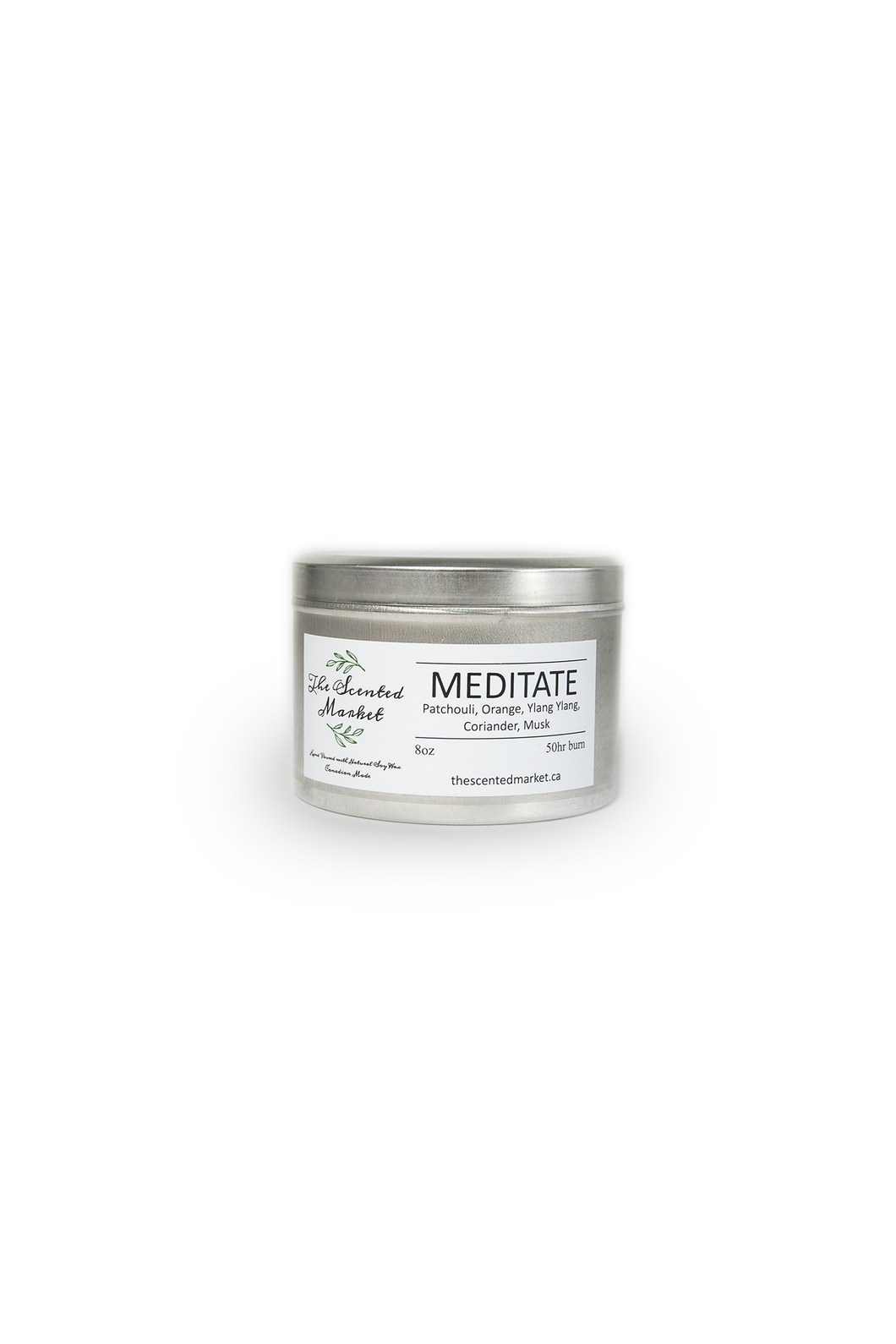 MEDITATE Essential Oil Candle 8 oz