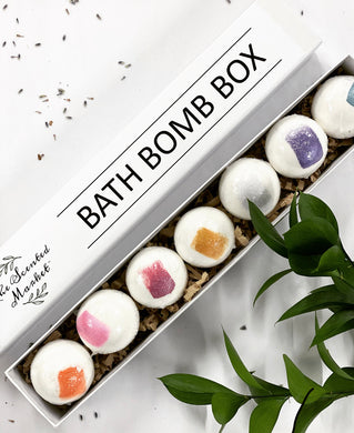 Bath Bomb Box Gift Set
