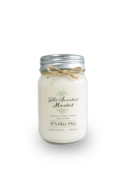 IT'S FALL Y'ALL  Soy Wax Candle 16 oz