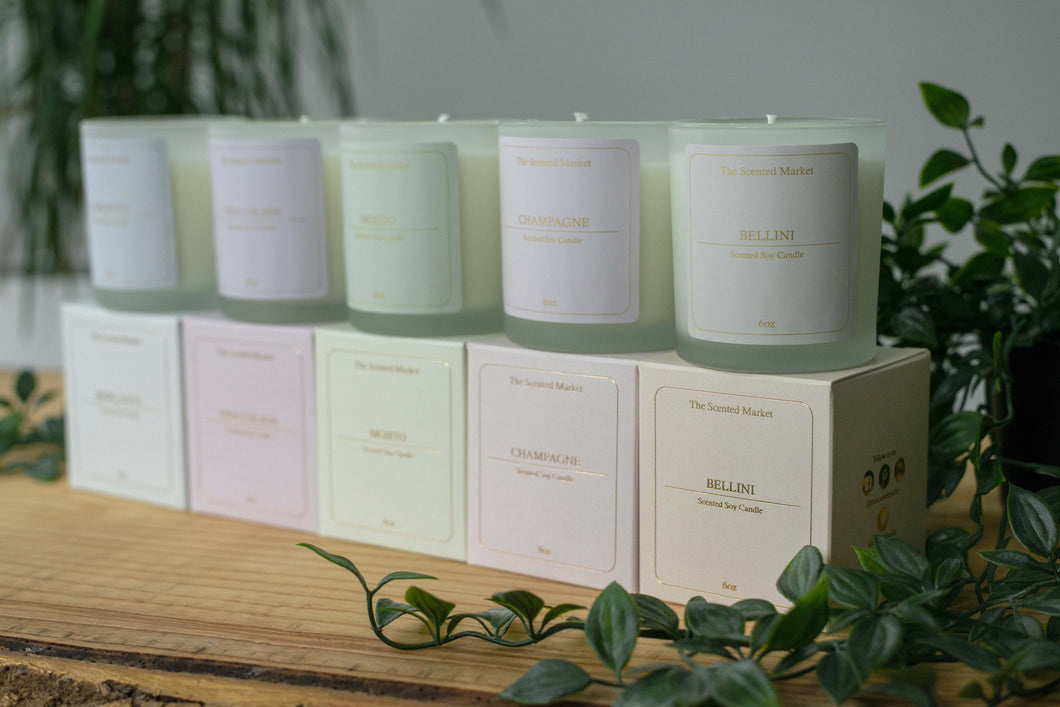 Cocktail Candle Collection Bundle