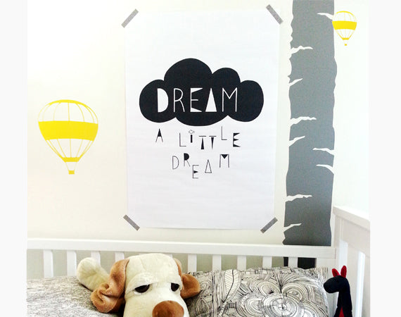 Art Print l Dream A Little Dream