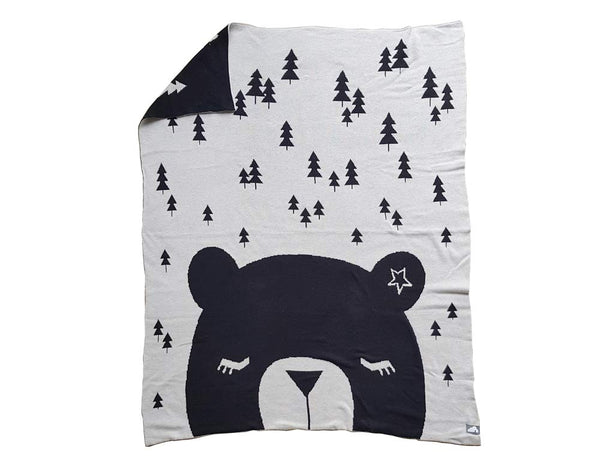 Mr. Bear Snuggle Blanket