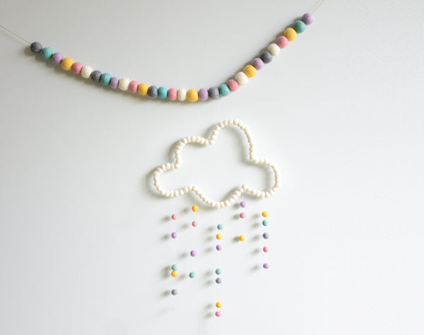 Cloud Mobile l White Pastel