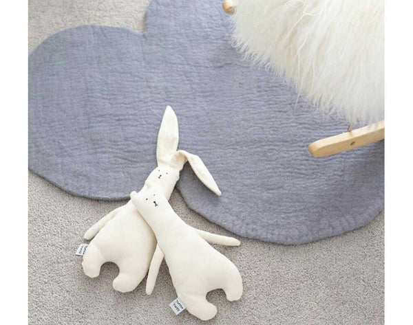 Cloud Nine Felt Rug | Grey