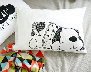 Pillowcase l Dream a Little Dream l Sleepy Puppy