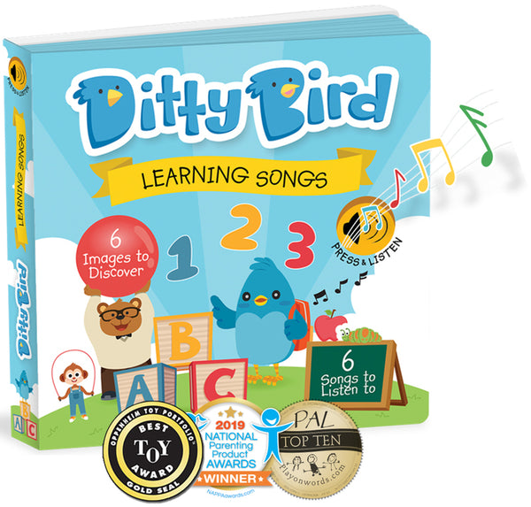 Ditty Bird Learning Songs Musical Book_Educational Music Toy