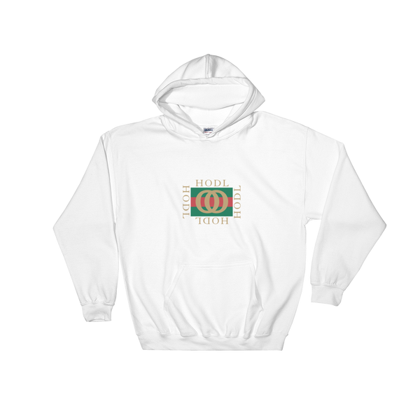 HODL GUCCI 2 HOODIE WHITE - h-o-d-l