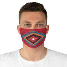 Load image into Gallery viewer, Ethnic Red and Blue Colorful Pattern Printed Fabric Face Mask Aztec Tribal