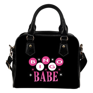 Bingo Babe Black Handbag Purse