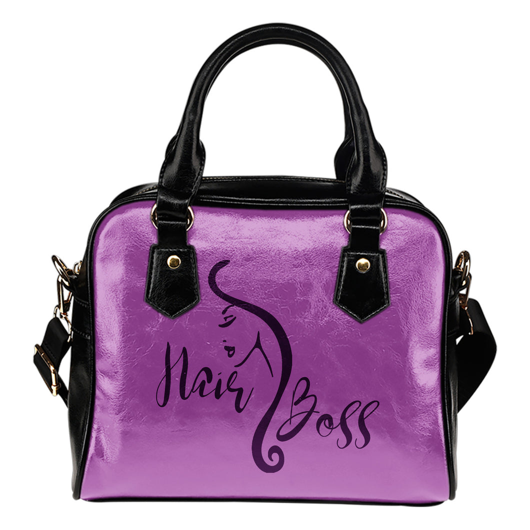 Hair Boss Handbag Purse Orchid