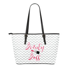 Load image into Gallery viewer, Beauty Boss Tote Bag Design Makeup Direct Sales Swag