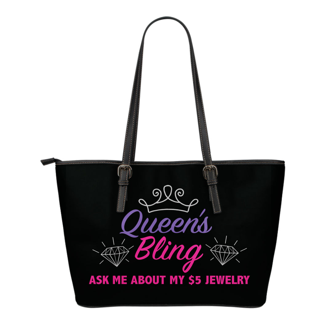 Queen's Bling Tote Bag