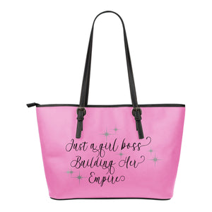 Just A Girl Boss Building Her Empire Tote Bags In 3 Colors
