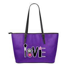 Load image into Gallery viewer, LOVE Makeup Tote Black