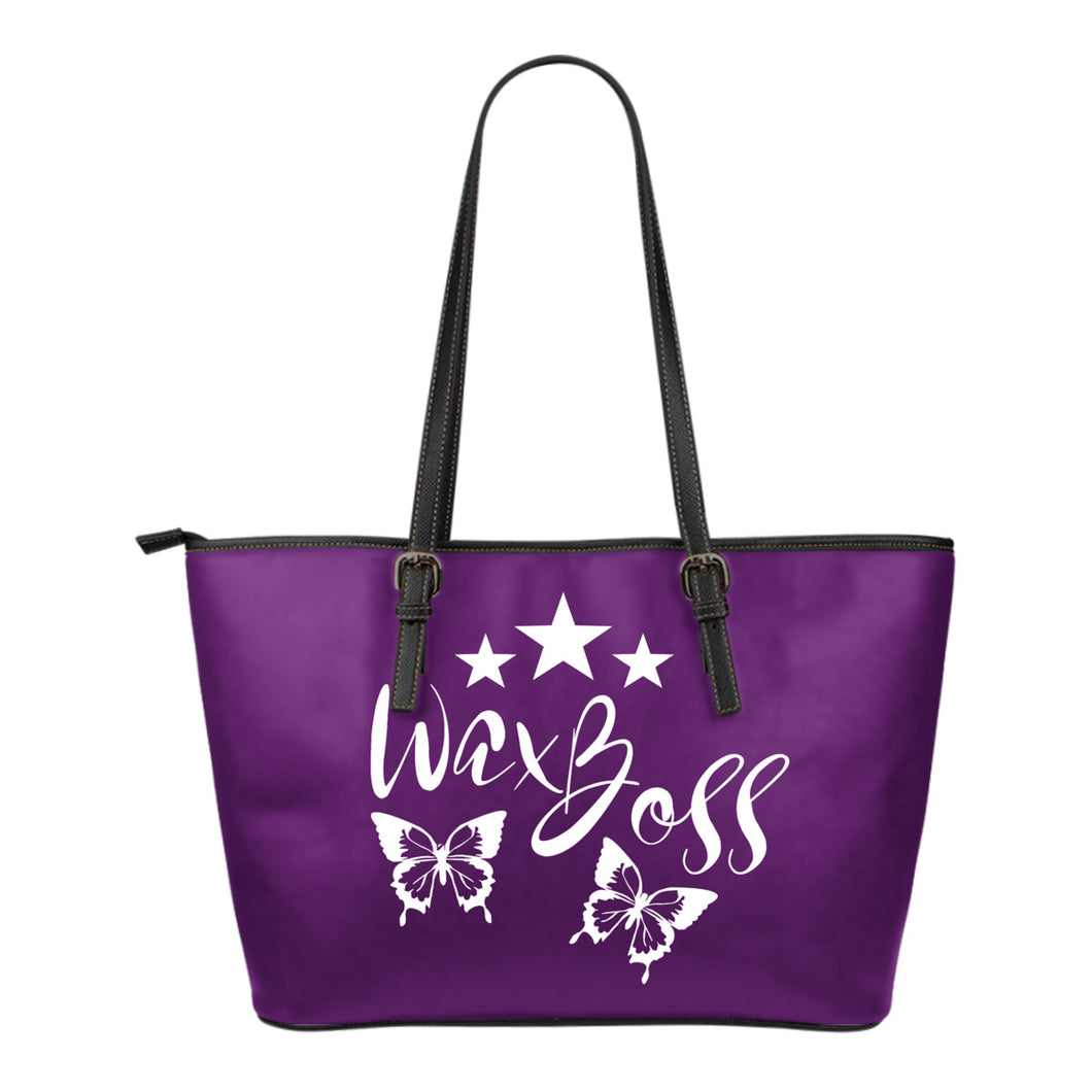 Wax Boss Tote Bag Purple