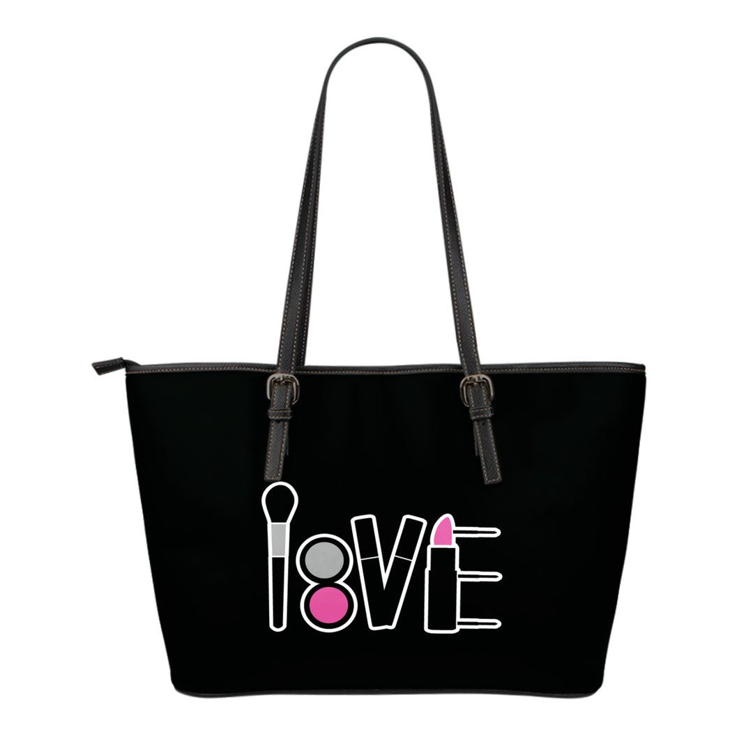 LOVE Makeup Tote Black