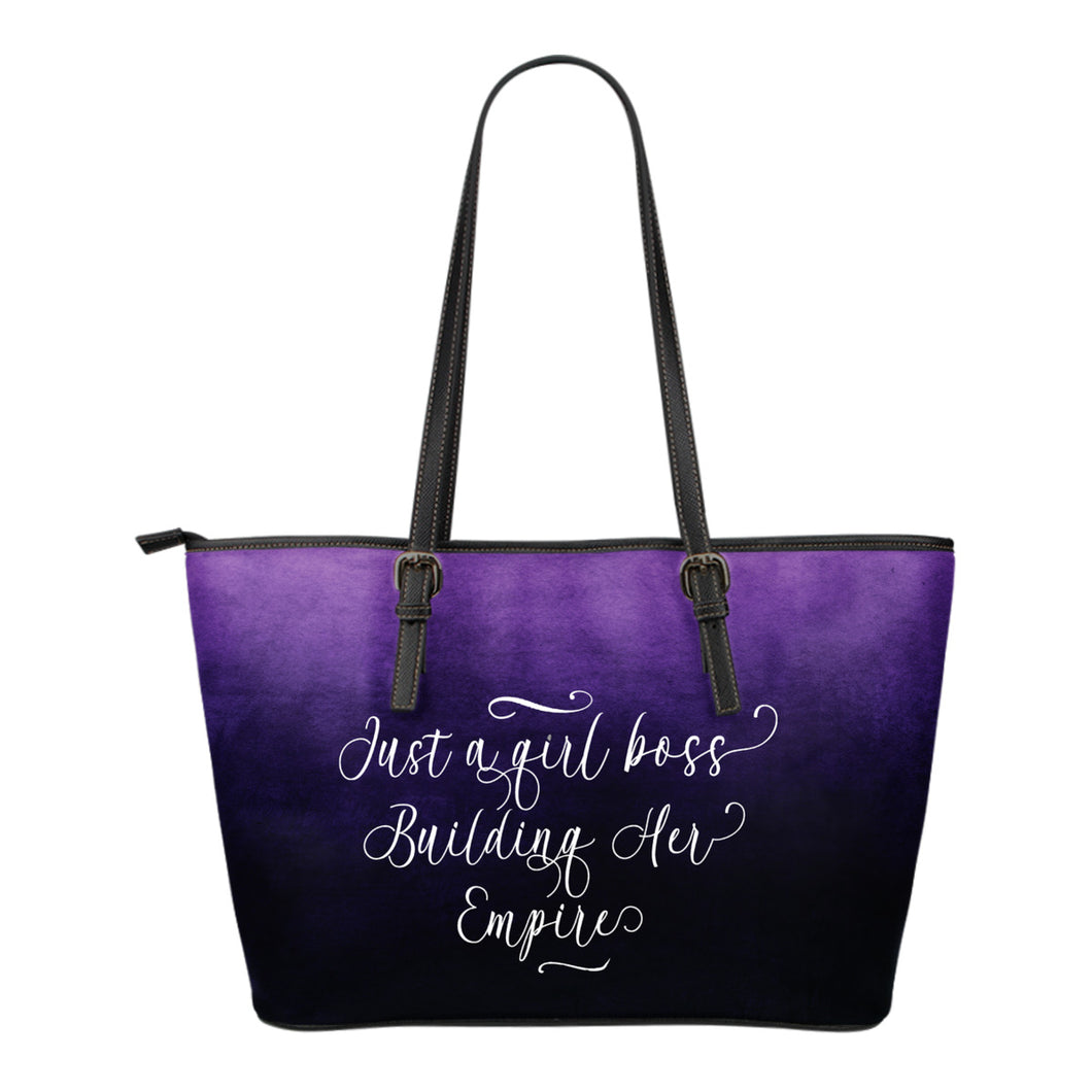 Girl Boss Tote Bags 5 Ombre and Solid Colors