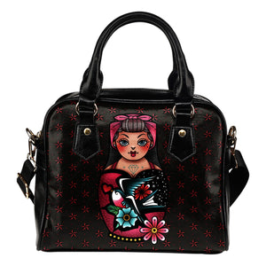Rockabilly Nautical Star Traditional Tattoo Style Purse