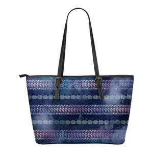 Aztec Boho Chic Ethnic Tribal Watercolor Pattern Tote Bag