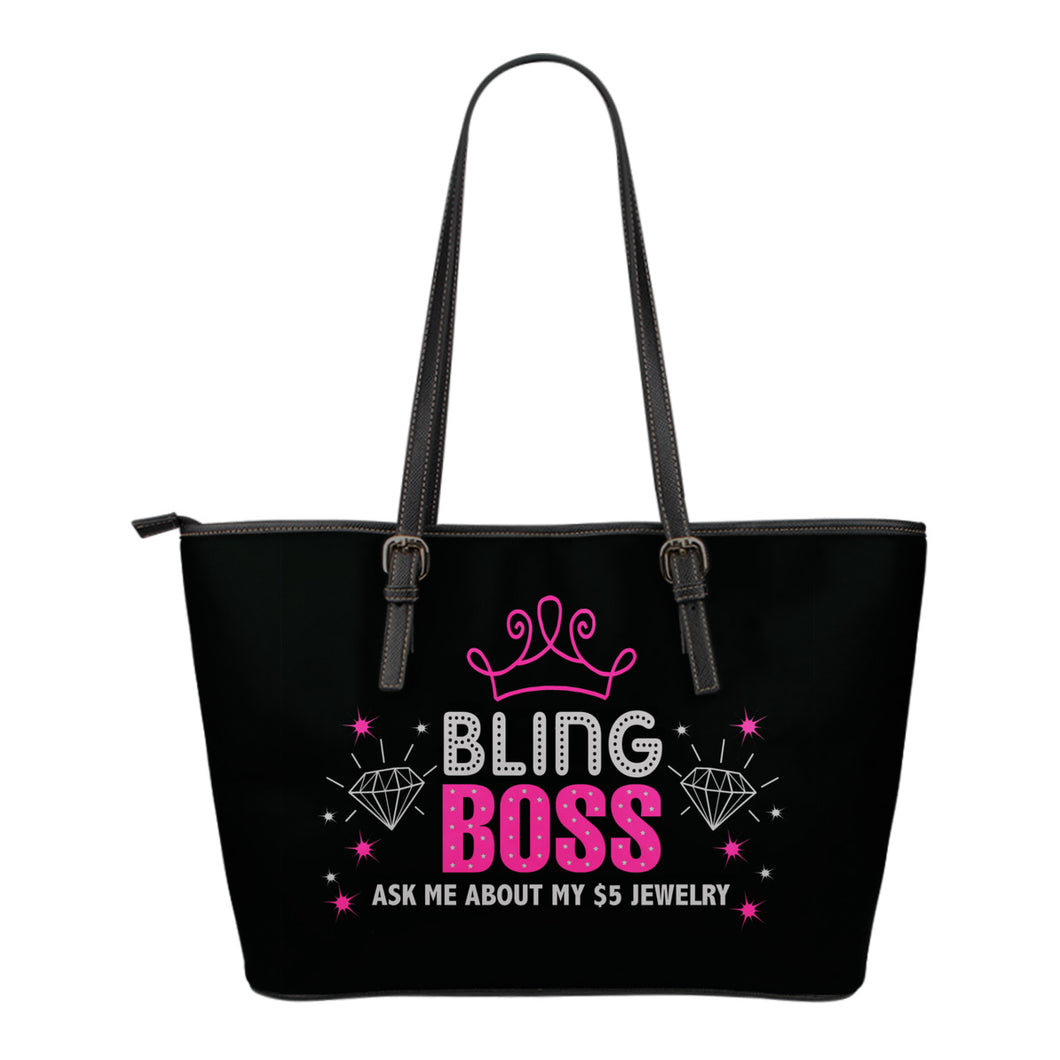 Bling Boss Tote Bag Dots and Stars Paparazzi Bling Bag