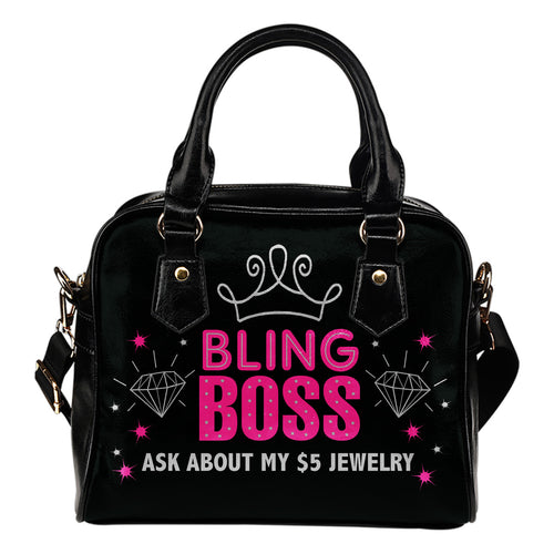 Bling Boss Handbag Purse Paparazzi Swag