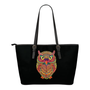 Colorful Owl Tote Bag