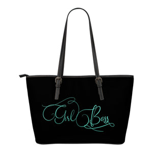 Girl Boss Tote Bag White Letters