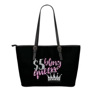 $5 Bling Queen Tote Bag