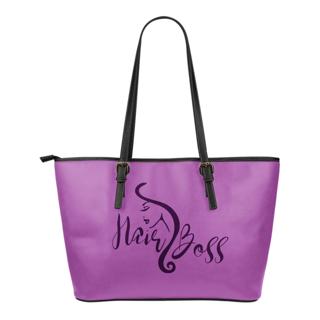 Hair Boss Tote Bag Purse Orchid