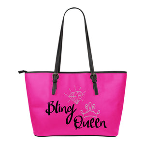 Bling Queen Pink Tote Bag