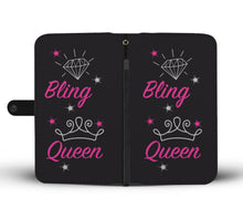 Bling Queen Wallet Phone Case